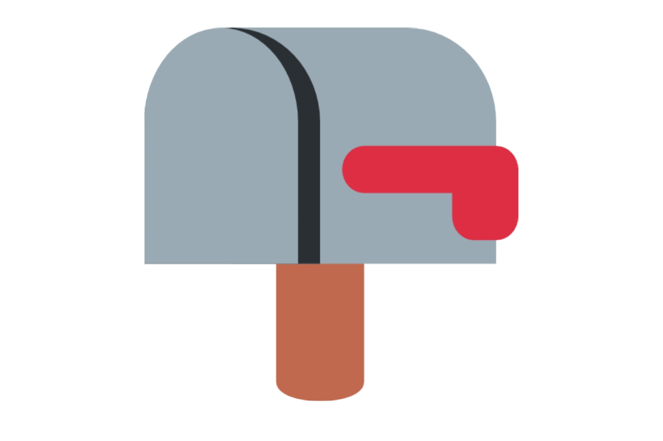 📪 Emoji Closed Mailbox with Lowered Flag Copy and Paste