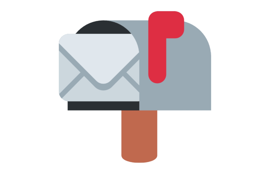 📬 Emoji Open Mailbox with Raised Flag Copy and Paste