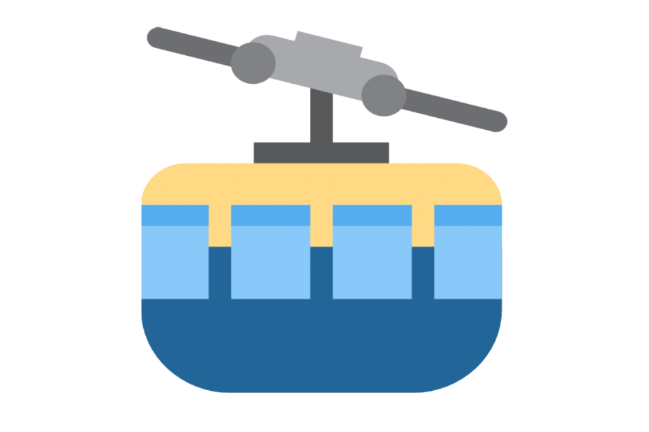 🚠 Emoji Mountain Cableway Copy and Paste