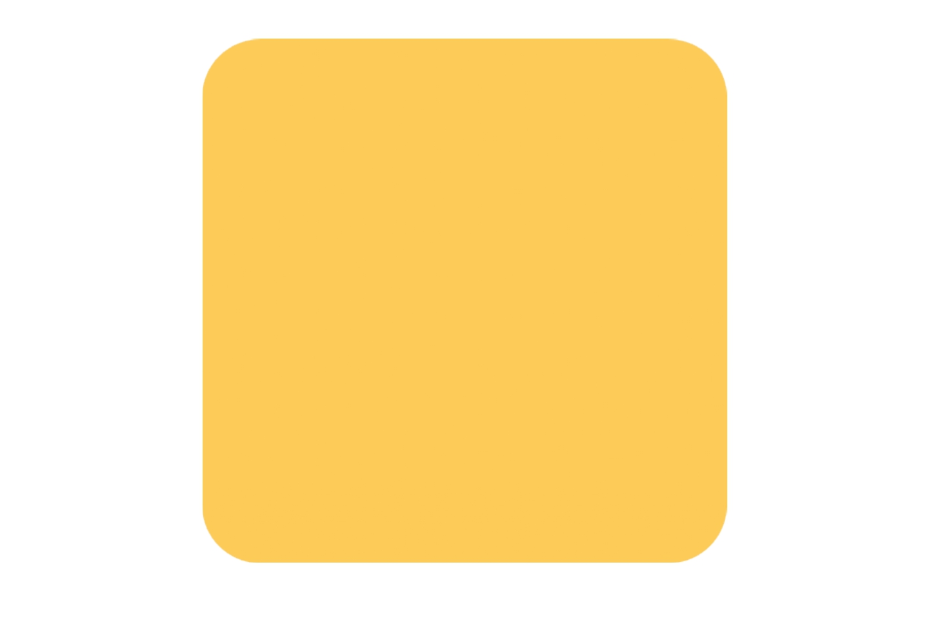 🟨 Emoji Large Yellow Square Copy and Paste