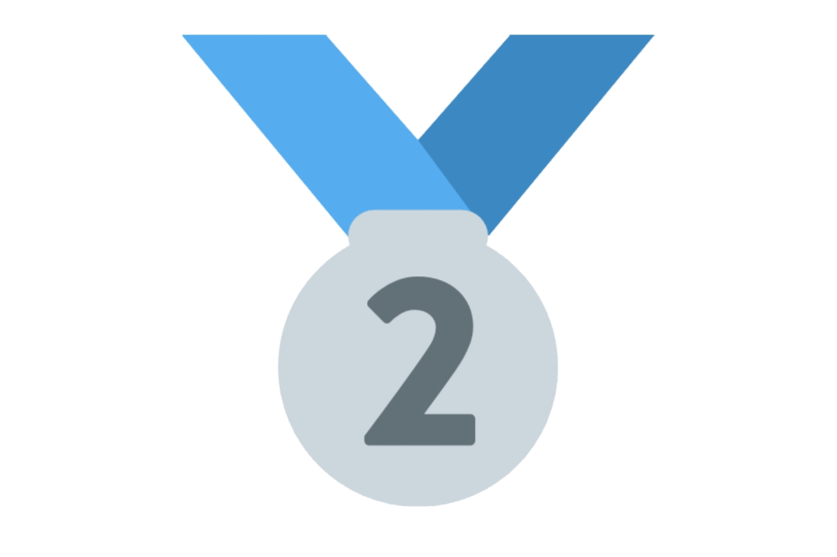 🥈 Emoji Second Place Medal Copy and Paste
