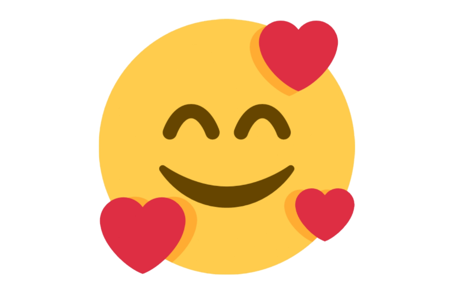 🥰 Emoji Smiling Face with Smiling Eyes and Three Hearts Copy and Paste