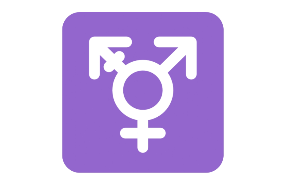 ⚧ Emoji Male with Stroke and Male and Female Sign Copy and Paste