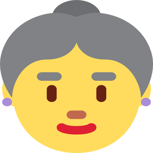 👵 PNG